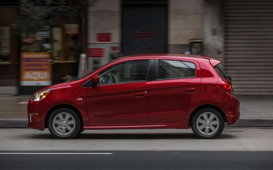 Mitsubishi Mirage 2014: the unveiling of the definitive name picture #6