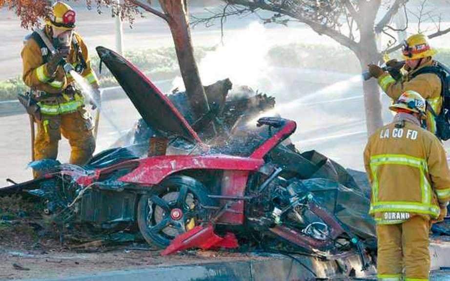 Paul Walker drove to Nearly 150 km / h at the time of the accident picture #4