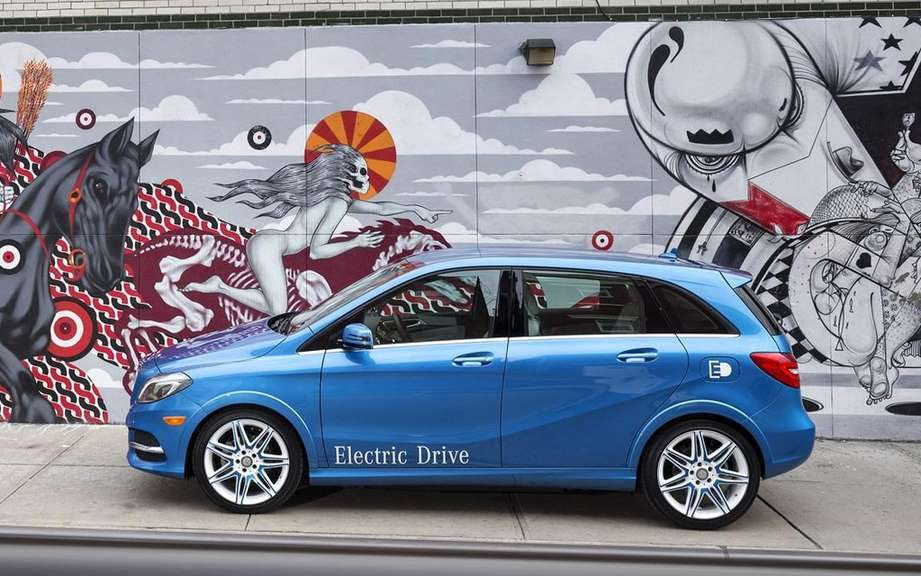 Mercedes-Benz B-Class electric: Sold in America picture #6