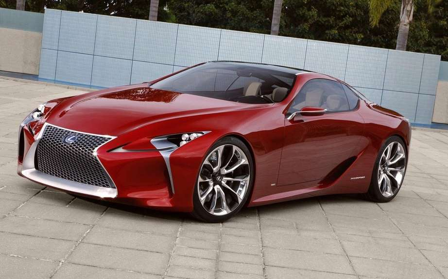 Lexus LF-Lc Concept: a production limit draw