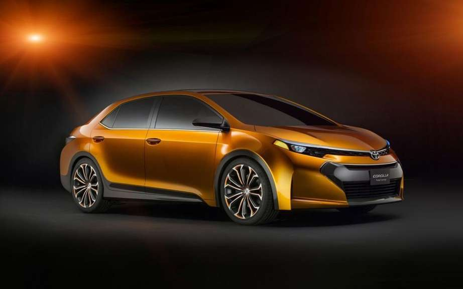 Toyota Corolla 2014 she will be unveiled in Shanghai or Frankfurt? picture #2