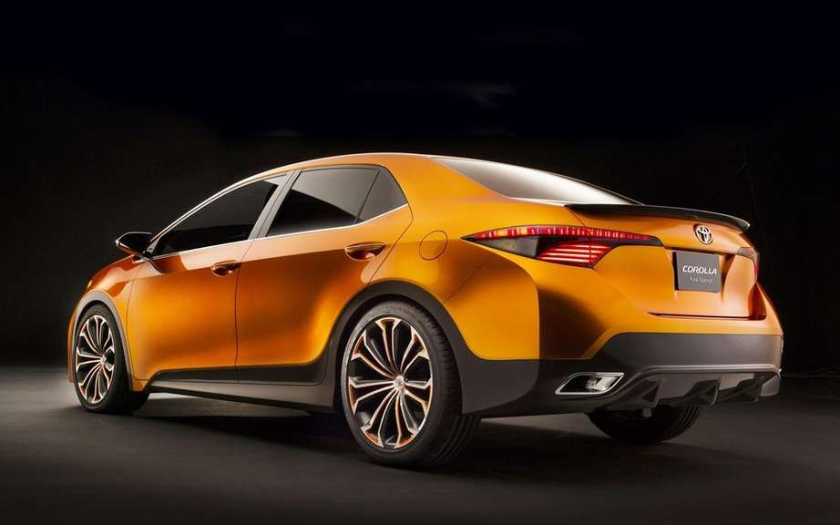 Toyota Corolla 2014 she will be unveiled in Shanghai or Frankfurt? picture #3