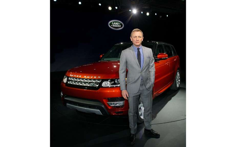 Daniel Craig: 1 million to drive the Range Rover Sport 2014