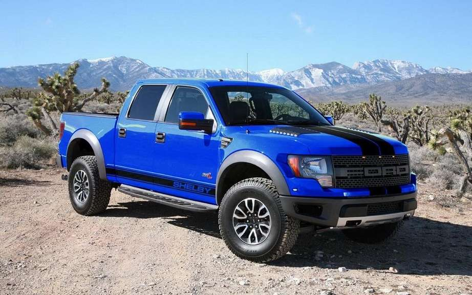 Shelby Raptor preparateur the attacks the F-150 picture #6