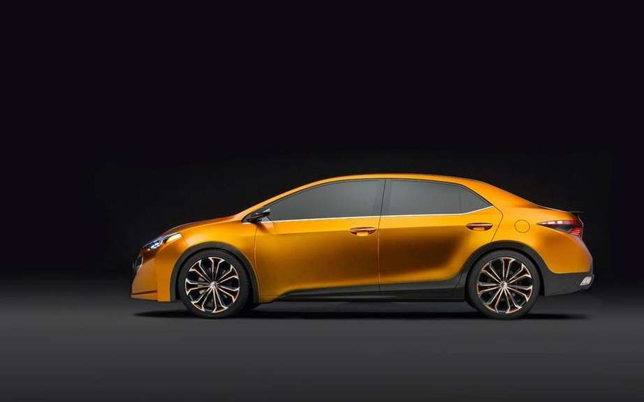 Toyota Corolla 2014 she will be unveiled in Shanghai or Frankfurt? picture #4
