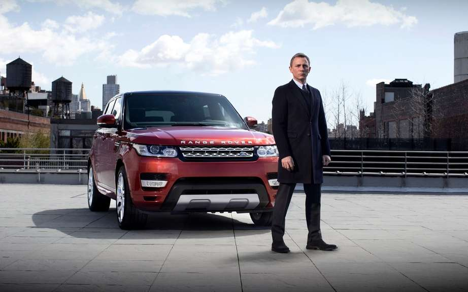 Daniel Craig: 1 million to drive the Range Rover Sport 2014 picture #2