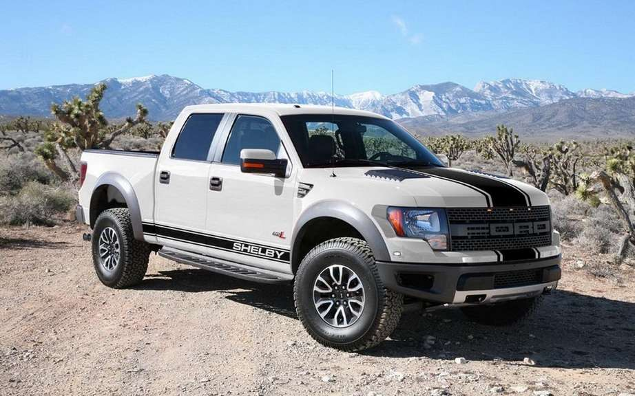 Shelby Raptor preparateur the attacks the F-150 picture #7