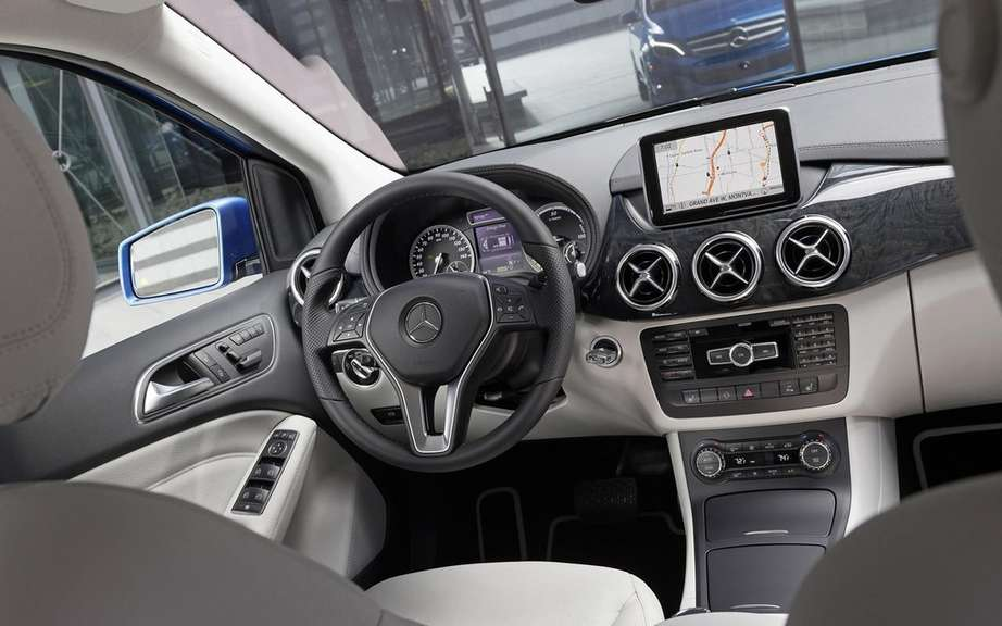 Mercedes-Benz B-Class electric: Sold in America picture #8