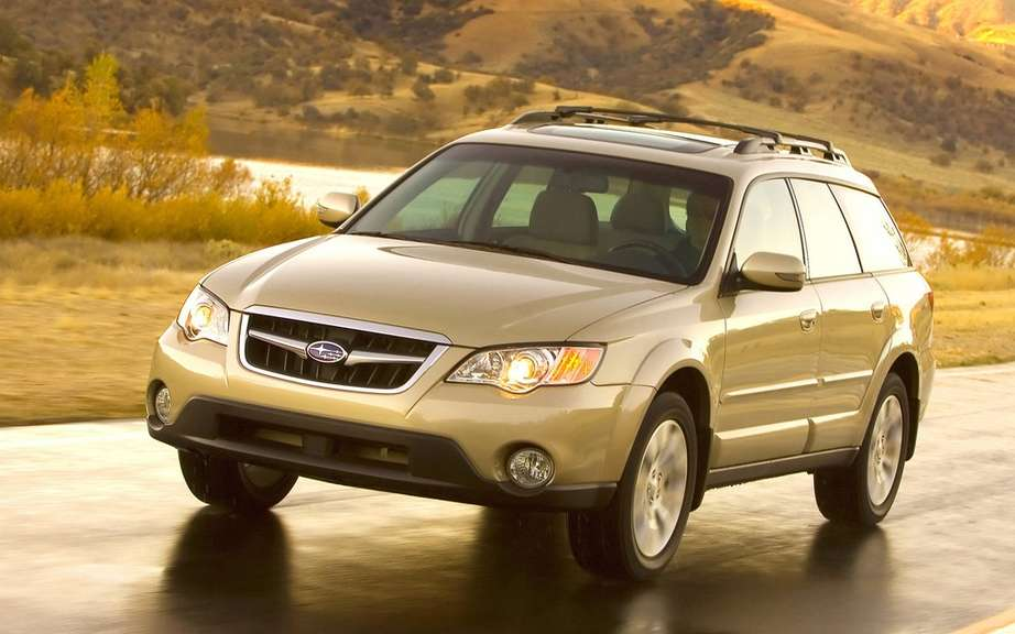 Subaru recalls 200,000 Legacy and Outback picture #2