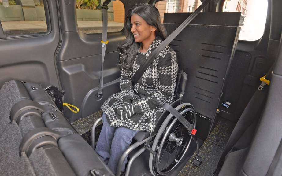 Nissan NV200 Taxi adapted for wheelchairs picture #5