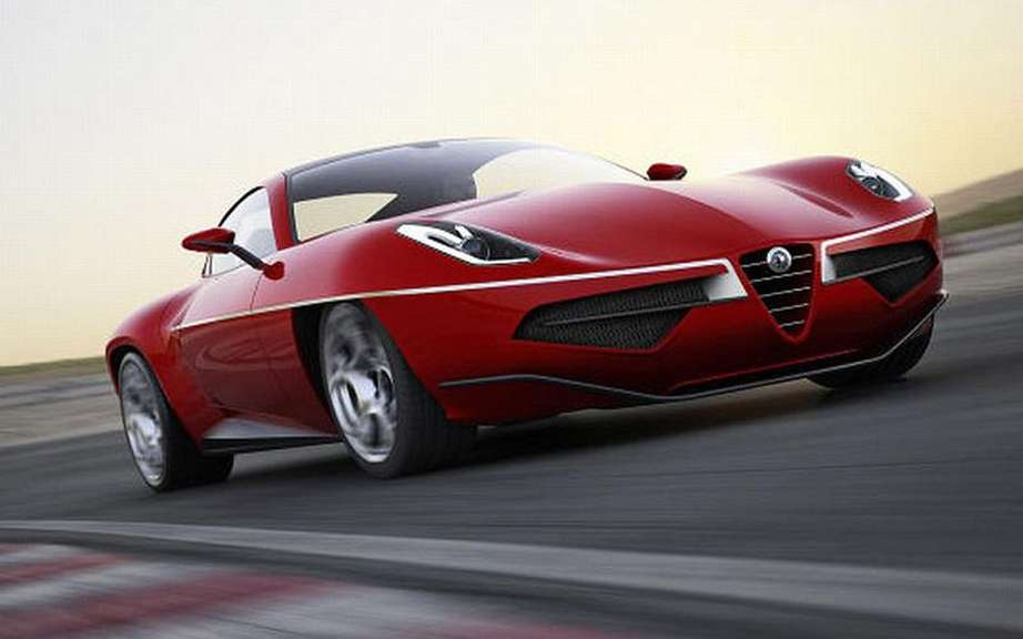 Touring Superleggera Disco Volante: the model of series