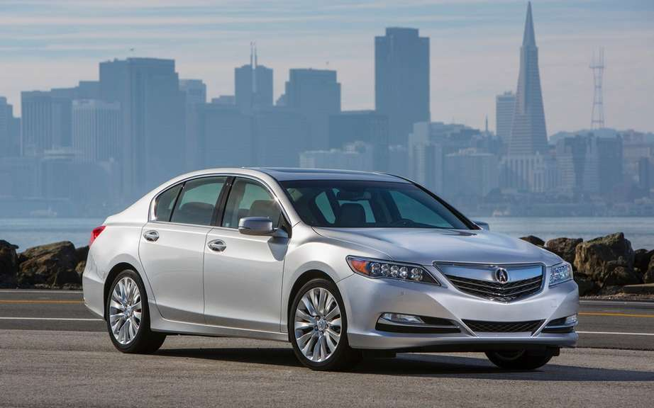 Acura RLX 2014 Canadian prices Ads picture #2