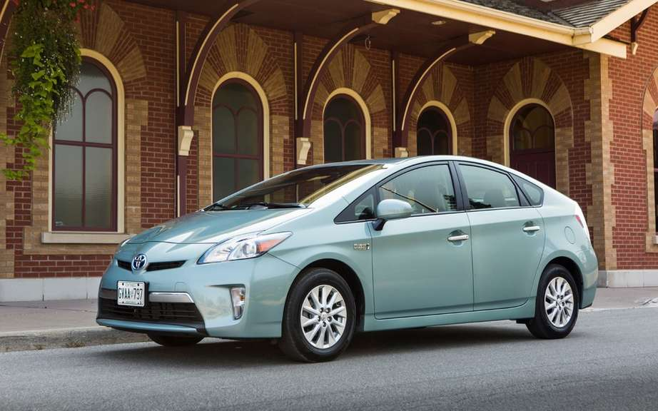 The Prius PHV champion Toyota Canada Monte Carlo picture #2