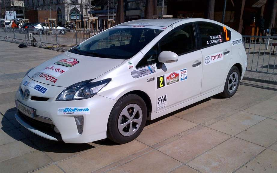 The Prius PHV champion Toyota Canada Monte Carlo picture #3