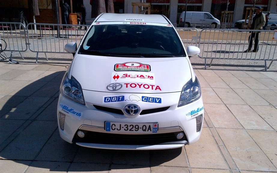The Prius PHV champion Toyota Canada Monte Carlo picture #4