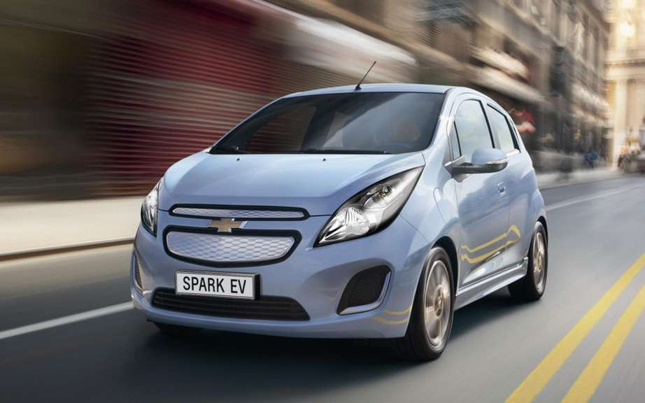 GM: electric car with a range of 322 km