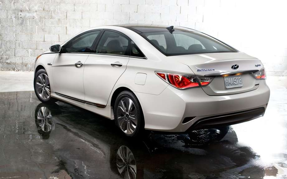 Hyundai Sonata Hybrid 2013: new technological configuration picture #2