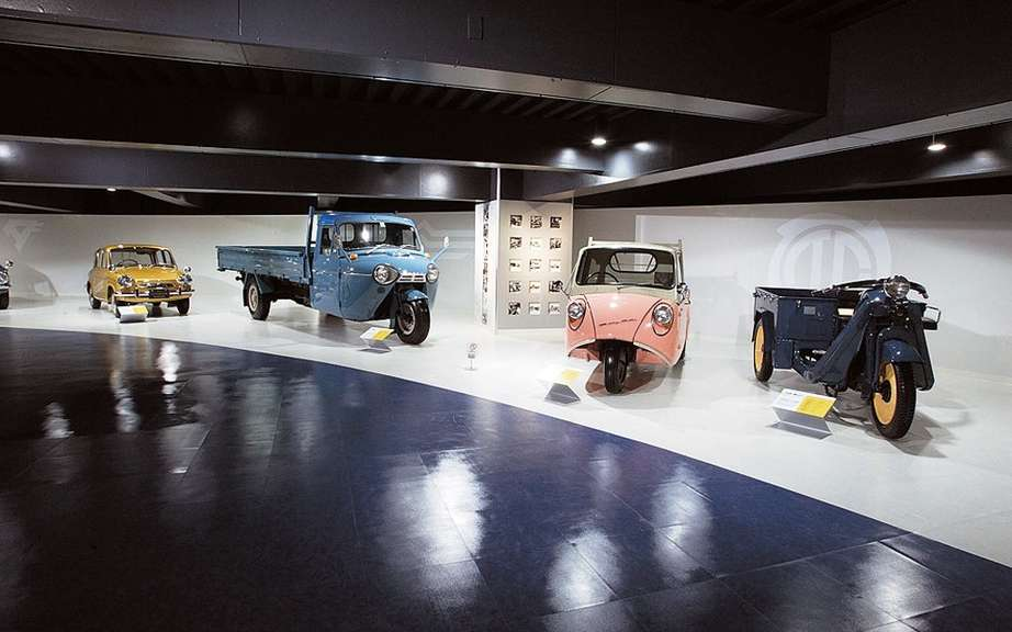 Online tour of the museum Mazda Hiroshima picture #1