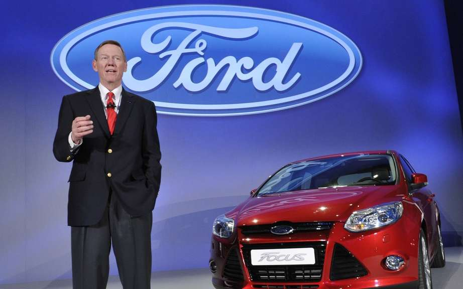The salary of the CEO of Ford fall 29% to U.S. $ 20.95 million
