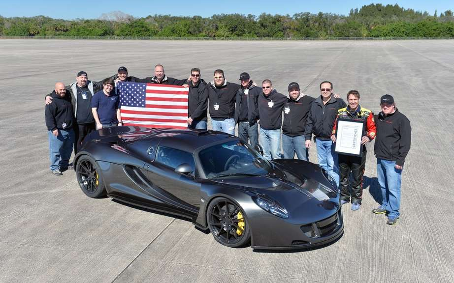 World's Fastest year edition for the Hennessey Venom GT picture #4