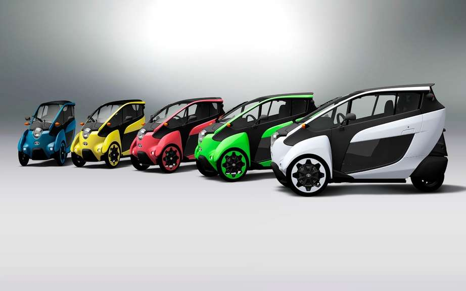 Toyota i-Road Concept: urban vehicle of choice