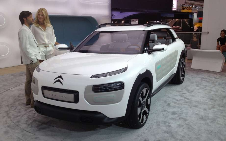 Citroen unveils the principle of its Hybrid Air technology