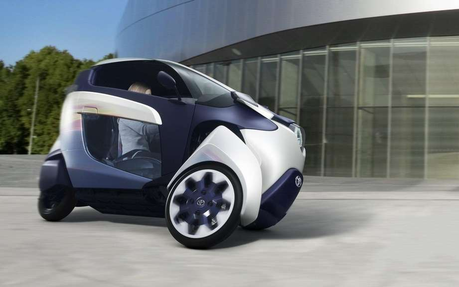 Toyota i-Road Concept: urban vehicle of choice picture #4