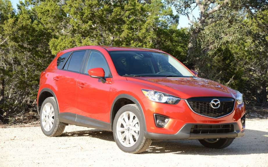 Mazda CX-5 sales that exceed its expectations