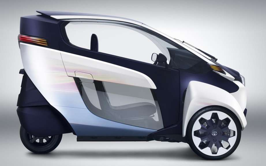 Toyota i-Road Concept: urban vehicle of choice picture #6