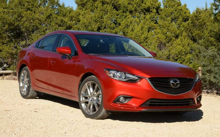 Presentation of the 2014 Mazda6 Auto Show in Quebec picture #3