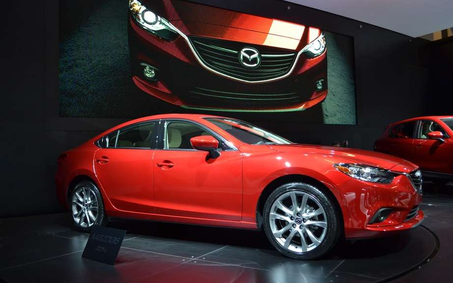 Presentation of the 2014 Mazda6 Auto Show in Quebec picture #4