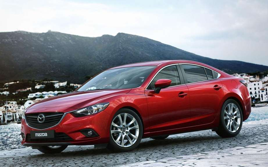 Presentation of the 2014 Mazda6 Auto Show in Quebec picture #5