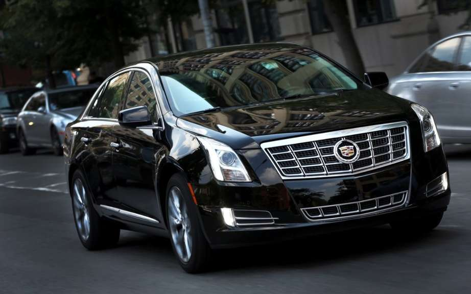Cadillac XTS W20: reserved for professional services picture #2