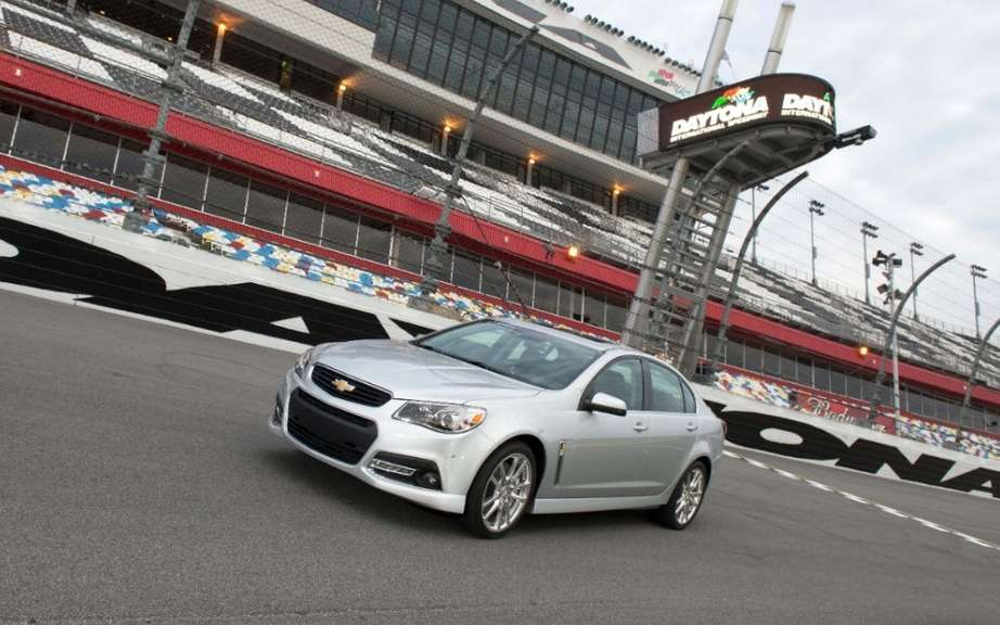 Chevrolet SS 2014 unveiled at Daytona picture #3