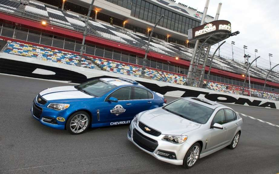 Chevrolet SS 2014 unveiled at Daytona picture #4
