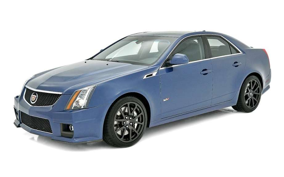 Cadillac CTS offered more colorful versions picture #3