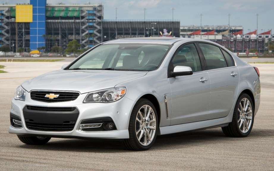 Chevrolet SS 2014 unveiled at Daytona picture #5