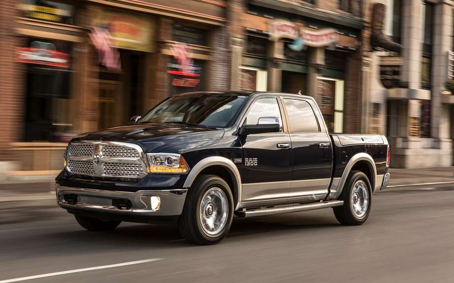 RAM 1500 a diesel engine picture #2