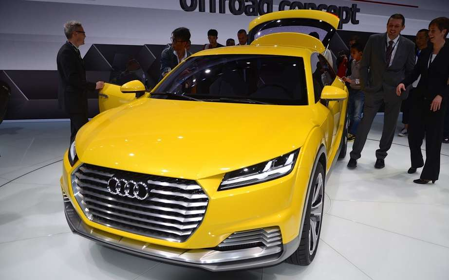 Launches: Offroad Concept Audi TT and Audi A3 Sportback e-tron picture #2