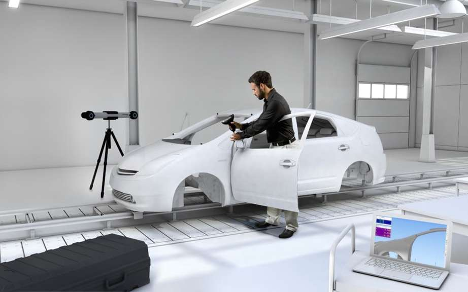 Volkswagen invests in a room measuring virtual picture #2