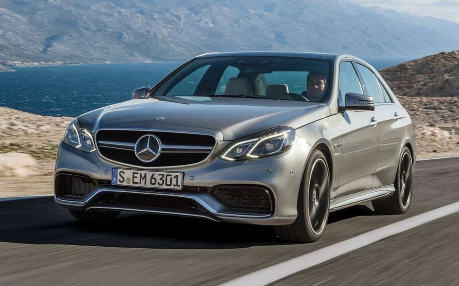 Mercedes-Benz Canada unveiled the new E 63 AMG 4MATIC 2014