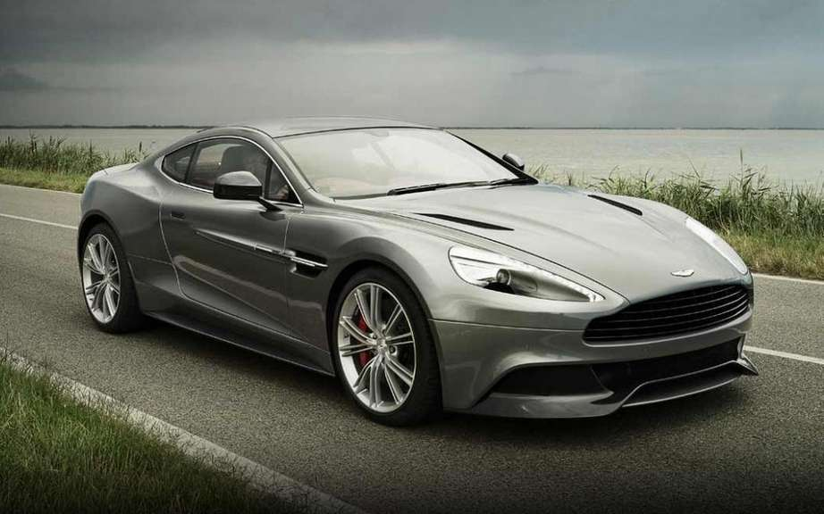 Aston Martin Vanquish: a first Salon Auto Quebec picture #2