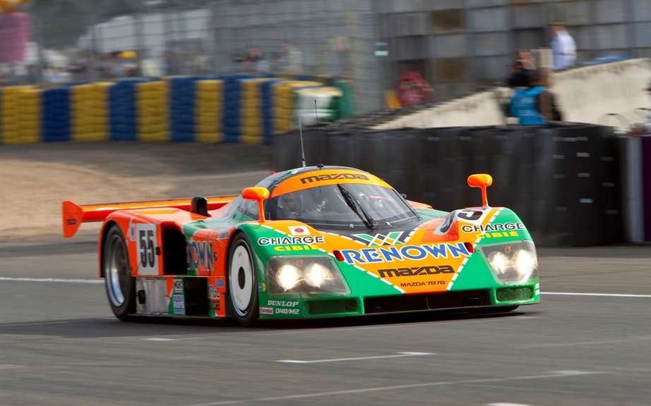The Mazda 787B, winning the 24 Hours of Le Mans in 1991, became a legend