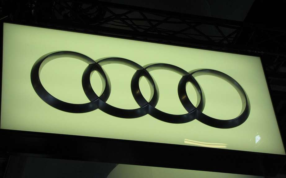 Audi record sales of 1,455,100 vehicles in 2012