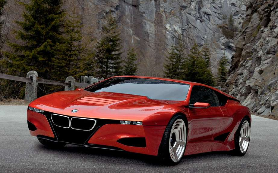 BMW M8: a rumor of more persistent picture #1