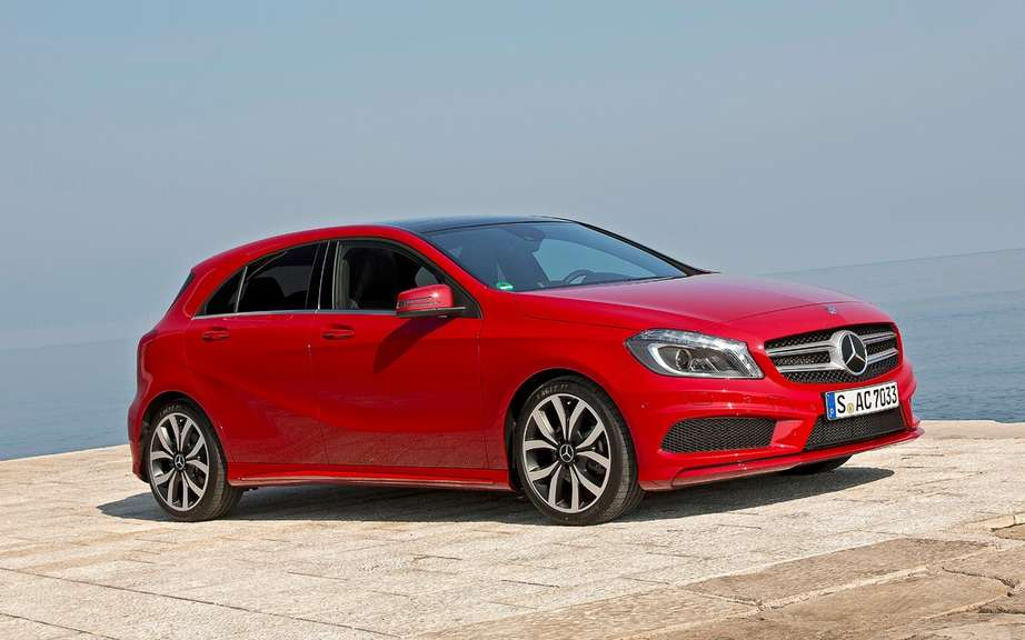 Mercedes-Benz Class A: Most Beautiful Car in 2012