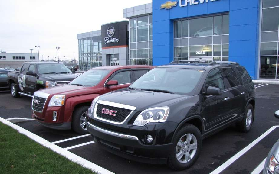 The three giants of the automotive sales increases in January