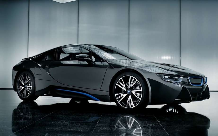 The melody of the BMW i8 picture #3