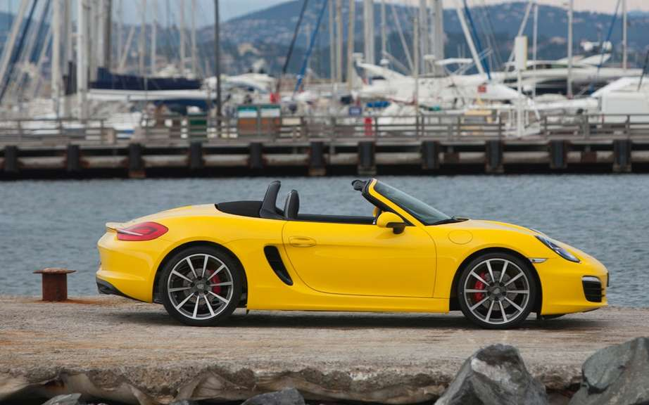 "The Porsche Boxster is the best Appointee ""sports car"" for 2013 picture #2"