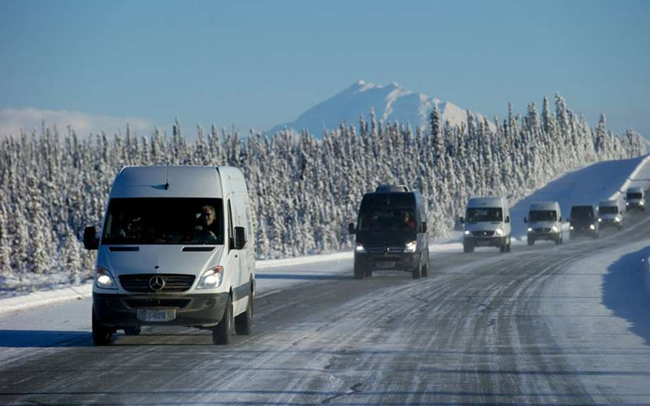 The Arctic Expedition of Mercedes-Benz Sprinter picture #3